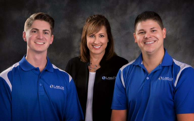 Chiropractor Weldon Spring MO Jeffrey Lawlor, Tim Sullivan, and Office Manager Jill