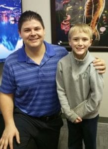 Chiropractor Jeffrey Lawlor With Mason