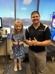Chiropractor Jeffrey Lawlor with Happy Patient